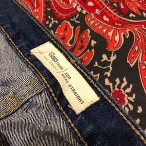 GAP Jeans - Gap Blue Jeans Real Straight
